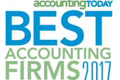 Davis & Hodgdon Associate CPAs Named as one of the 2017 Accounting Today's Best Accounting Firms to Work for